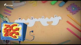Como fazer fantasminhas em papel