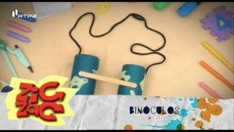 Como fazer uns binóculos
