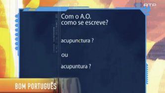 """Escreve-se """"acupuntura"""" ou """"acupunctura""""?"""