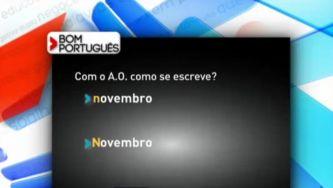 """Escreve-se """"novembro"""" ou """"Novembro""""?"""