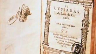 Primeira edição d´Os Lusíadas