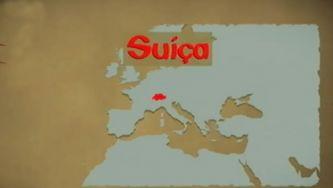 Suíça, dividida em cantões