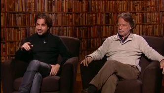 Mia Couto e José Eduardo Agualusa em entrevista conjunta