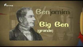 Big Ben, o sino que dá as horas em Londres