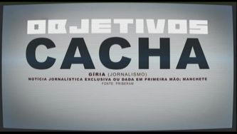 """Cacha"" - vocabulário de media"