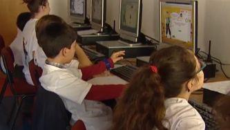 Ensinar matemática com jogo on-line no Cristelo