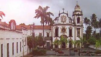 Mosteiro de São Bento de Olinda no Brasil