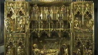 O altar portátil da batalha de Aljubarrota