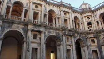 O claustro renascentista do Convento de Cristo