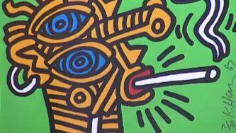 A arte urbana de Keith Haring