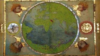 Atlas Miller, o mapa mentiroso