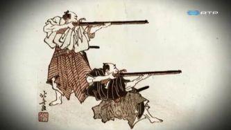 Os portugueses introduziram a espingarda no Japão
