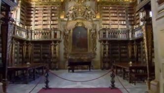 A Biblioteca de D. João V, obra-prima do Barroco