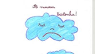 A nuvem tristonha