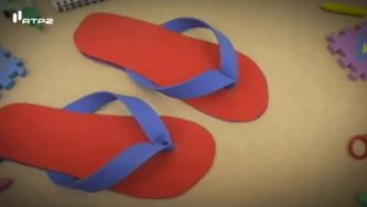 Como fazer uns chinelos de praia