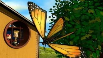 A metamorfose da lagarta