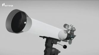Sabes usar um telescópio?