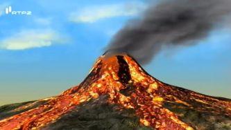 Como um vulcão entra em erupção