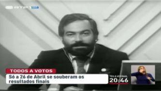 As eleições para a Assembleia Constituinte na RTP