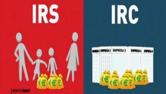 O que são o IRS e o IRC?