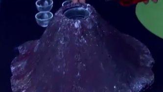 Queres fazer lava? Experimenta este vulcão