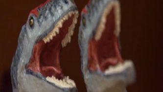 Os dinossauros estão no museu da Lourinhã
