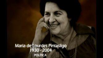 Maria de Lurdes Pintassilgo, a pioneira