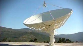 Um radiotelescópio na Pampilhosa da Serra