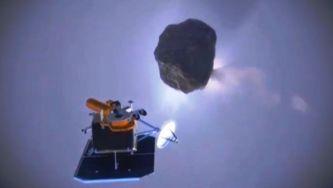 """""""Deep Impact"""", uma mensageira dos cometas"""