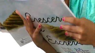 """""""Crescer a escrever"""" faz nascer livro na Escola Básica de Trevões"""