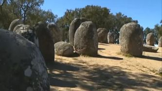 O recinto megalítico dos Almendres