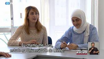 Estudantes sírios em Portugal
