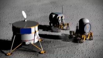 Um robô na Lua para sonhar com  Marte