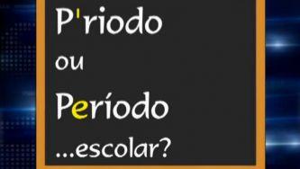 """Devemos dizer """"p´riodo"""" ou """"período""""?"""