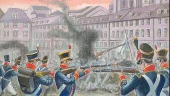 A guerra civil entre liberais e absolutistas
