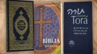 Livros para três religiões
