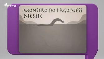 O monstro do Loch Ness, escocês e debaixo de água