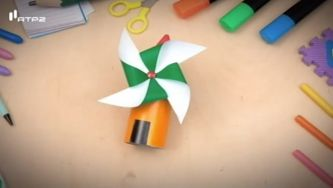 Como fazer um moinho de vento