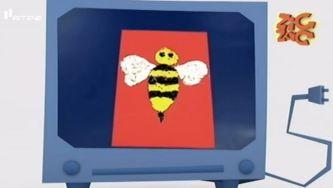 Como fazer uma abelha com casca de ovo