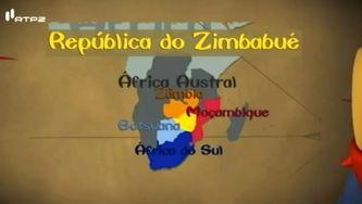 República do Zimbabué, terra de savanas