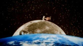Descer na lua é aterrar?