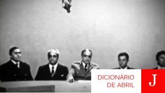 A Junta de Salvação Nacional, primeiro poder após a ditadura