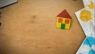 Como fazer uma casinha amarela e um  dragão chinês