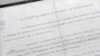 Primeiro comunicado do Movimento das Forças Armadas