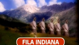 Na fila indiana para ver este vídeo
