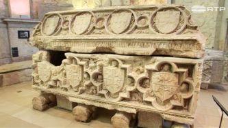 O túmulo de D. Fernando I é um documento político