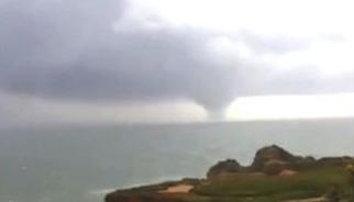 Um tornado no Algarve