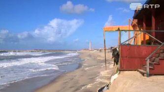 A erosão da costa portuguesa