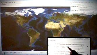 O mapa geológico da Europa