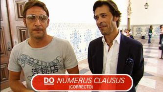 Numerus clausus? Também falamos latim